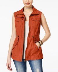 American Rag Utility Vest Only At Macy's Autumn Leaf