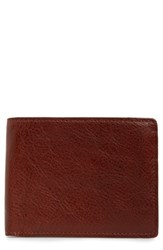 Nordstrom Shop Richmond Leather Wallet Brown Brown Henna