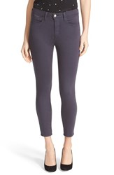 L'agence Women's High Rise Skinny Ankle Jeans Stingray