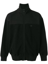 Adidas Originals By Alexander Wang Inout Zip Up Sweatshirt Unisex Cotton Xs Black