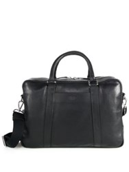 Shinola Essex Slim Briefcase Black