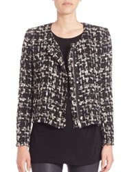 Iro Nalokie Tweed Jacket Black White