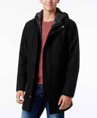 American Rag Men's Parker Jacket Only At Macy's Deep Black