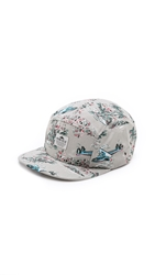 Penfield Casper Five Panel Cap Grey