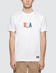 Dickies Usa Tricolor S S T Shirt