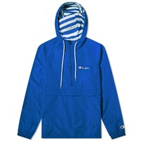 Champion Reverse Weave Popover Jacket Blue