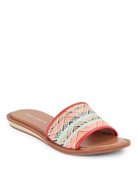 French Connection Ingrid Slip On Sandals Multi Colored