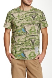 Ecko Unlimited Nomads Camo Tee Green