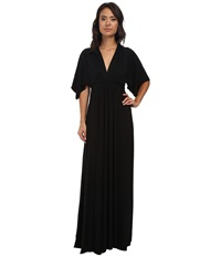 Rachel Pally Long Caftan Dress Black Women's Dress