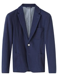 Jigsaw Cotton Double Breasted Jacket