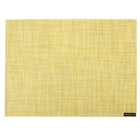 Chilewich Mini Basketweave Rectangle Placemat Lemon