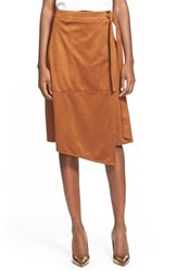 Women's Glamorous Faux Suede Skirt