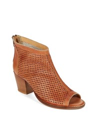 Charles By Charles David Unify Peep Toe Ankle Boots Taupe