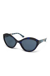 M Missoni Women's Cat Eye Acetate Frame Sunglasses Blue