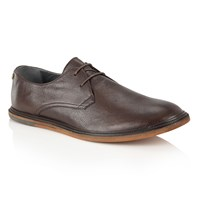 Frank Wright Burley Mens Shoes Dark Brown