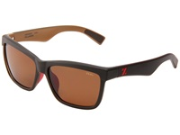 Zeal Optics Kennedy Black Coffee W Copper Polarized Lens Sport Sunglasses