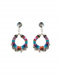 Dannijo Ipyana Statement Earrings Multi