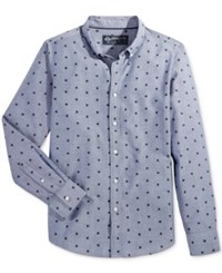 American Rag Men's Hashtag Shirt Only At Macy's Medieval Blue