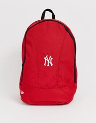 New Era Stadium 25L Backpack In Red