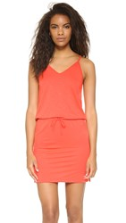 Lanston V Neck Mini Dress Calypso