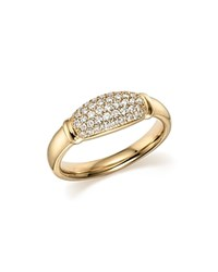 Bloomingdale's Diamond Micro Pave Band In 14K Yellow Gold .44 Ct. T.W.