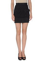 Miriam Ocariz Skirts Mini Skirts Women Black