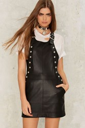 Nasty Gal Collection Overall Of It Studded Dress Black