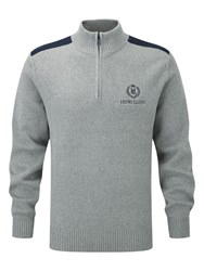 Henri Lloyd Cardon Regualr Half Zip Knit Grey