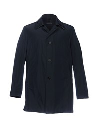 Aquarama Overcoats Dark Blue