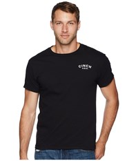 Cinch Short Sleeve Jersey Tee Black 4 T Shirt