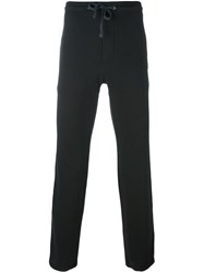 James Perse Drawstring Track Pants Black