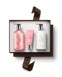 Molton Brown Delicious Rhubarb And Rose Hand Gift Set 80.00 Value