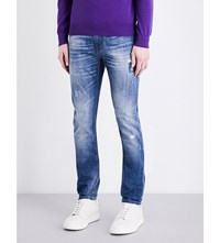 Armani Jeans Slim Fit Tapered Mid Wash