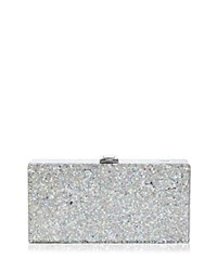 Milly Star Box Clutch Silver