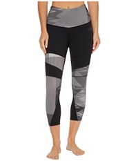 The North Face Motivation Printed Tights Tnf Black Ziggy Zaggy Print Women's Casual Pants