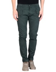 Daniele Alessandrini Casual Pants Dark Green