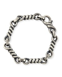 Woven Cable Bracelet Silver David Yurman