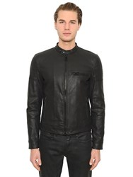 Belstaff Peckford Wax Coated Cotton Denim Jacket