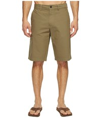 The North Face Narrows Cargo Shorts Burnt Olive Green Men's Shorts