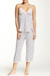 Rene Rofe Camisole And Pant Pajama Set Multi