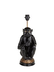 House Of Hackney Macaque Lamp Stand Black