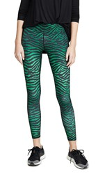 Terez Tall Band Leggings Metallic Tigress