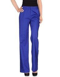 New York Industrie Trousers Casual Trousers Women Blue