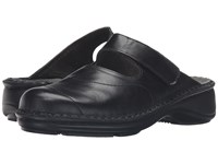 Naot Footwear Hibiscus Black Madras Leather Women's Shoes