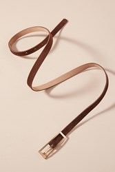Anthropologie Sue Skinny Belt Brown