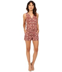 Sanctuary Hazel Romper Sunset Boho Women's Jumpsuit And Rompers One Piece Brown