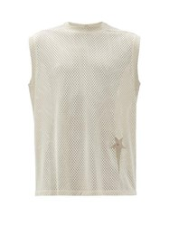 Rick Owens X Champion Technical Mesh Tank Top Beige