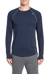 Tasc Performance Charge Ii Long Sleeve T Shirt Classic Navy Tranquility Sea