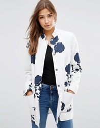 B.Young Cora Structured Jacket Navy