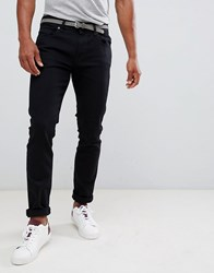 Selected Homme Jeans In Slim Fit Black